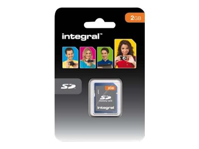 Integral - Carte mémoire flash - 2 Go - SD