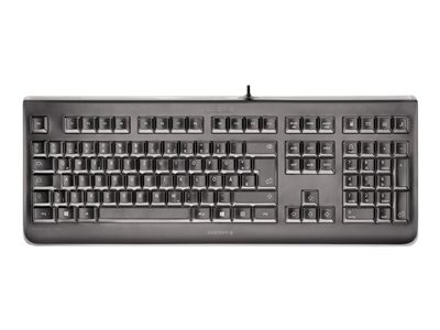 CHERRY KC 1068 - Keyboard - USB - UK layout - key switch: CHERRY LPK - black