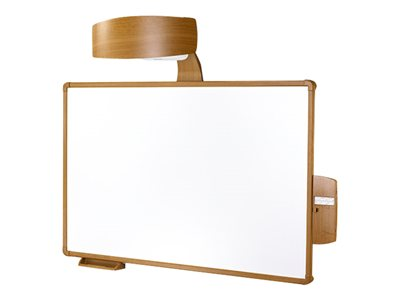 Chief AN1BW1 Projection screen with projector mounting system wall mountable teak