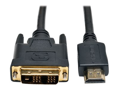 Tripp Lite 30ft HDMI to DVI-D Digital Monitor Adapter Video Converter Cable M/M 30' - video cable - HDMI / DVI - 9.15 m