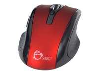 SIIG JK-WR0912-S2 Mouse optical 6 buttons wireless 2.4 GHz USB wireless receiver