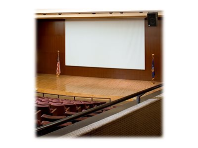 Draper Paragon/Series E Electric Projection screen ceiling mountable, wall mountable