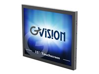 GVision o Series O15AC-CV LED monitor 15INCH open frame touchscreen 1024 x 768 300 cd/m²
