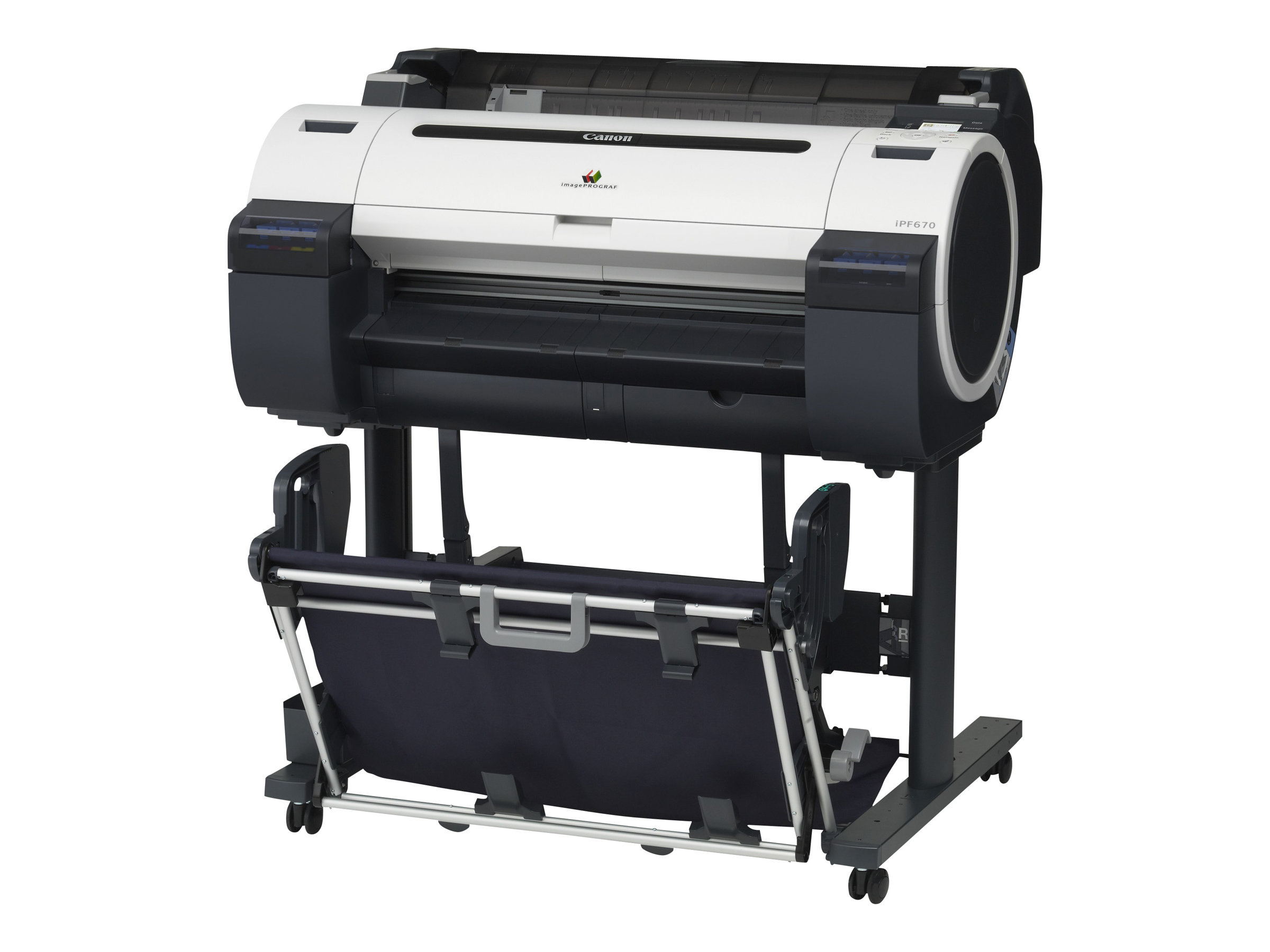 Canon imagePROGRAF iPF670 - without stand - large-format printer - color - ink-jet