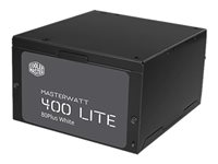 Cooler Master MasterWatt Lite 400 - Alimentation électrique (interne) - ATX12V 2.31 - 80 PLUS - CA 230 V - 400 Watt - PFC active