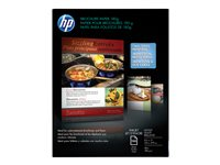 HP Glossy Letter A Size (8.5 in x 11 in) 180 g/m² 48 lbs 150 sheet(s) brochure paper