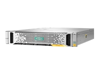 HPE StoreVirtual 3200 SFF - Hard drive array - 1.2 TB - 25 bays (SAS-3) - iSCSI (10 GbE) (external) - rack-mountable - 2U