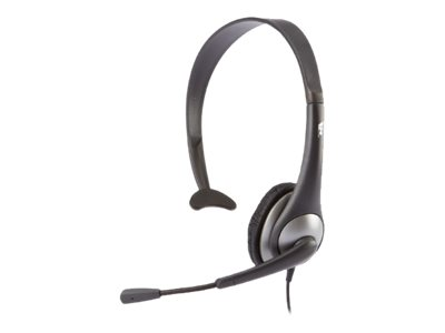 Cyber Acoustics AC 104 - Headset - on-ear - wired