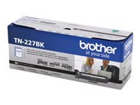 Brother TN-227BK - High Yield - black - original - toner cartridge - for Brother DCP-L3550, HL-L3210, L3230, L3270, L3290, MFC-L3710, L3730, L3750, L3770