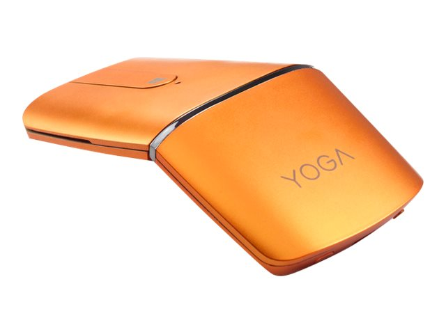 Lenovo Yoga Mouse - Maus/Fernbedienung - optisch - 4 Tasten - kabellos - 2.4 GHz, Bluetooth 4.0