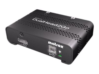 Matrox Graphics eXpansion Module DualHead2Go Digital SE video converter DisplayPort -
