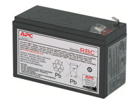 APC Replacement Battery Cartridge #2 UPS battery 1 x lead acid black