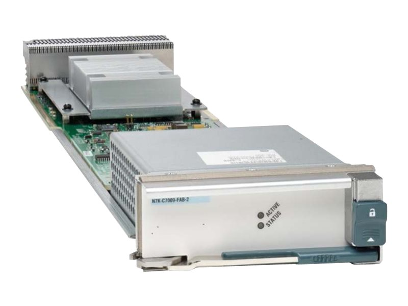 Cisco Nexus 7000 Series 9-Slot Chassis 110Gbps/Slot Fabric Module - switch - managed - plug-in module