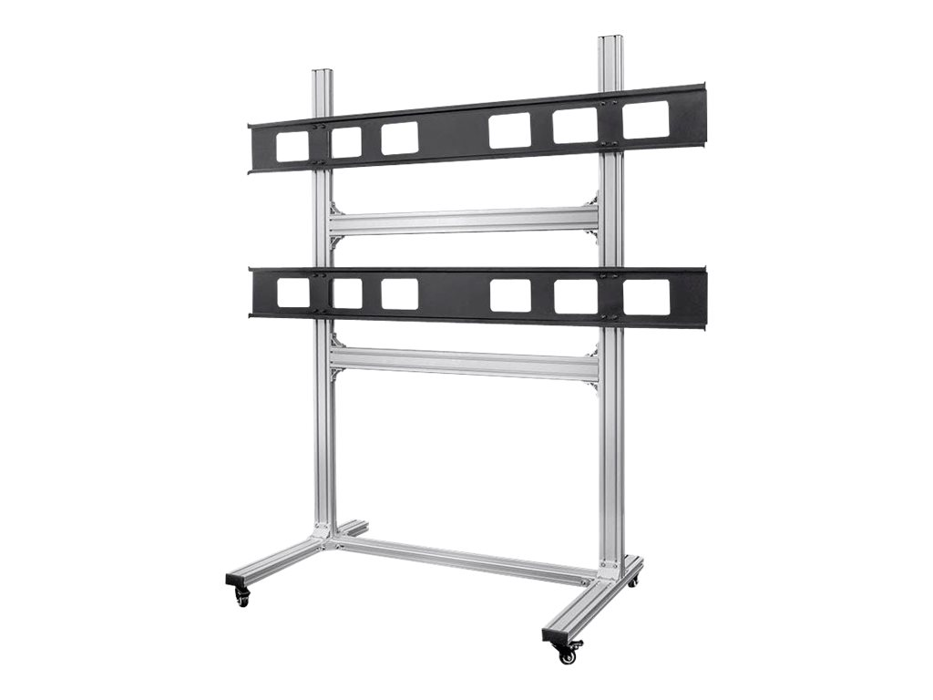 Monoprice Commercial Series 2x2 Video Wall System Bracket - cart