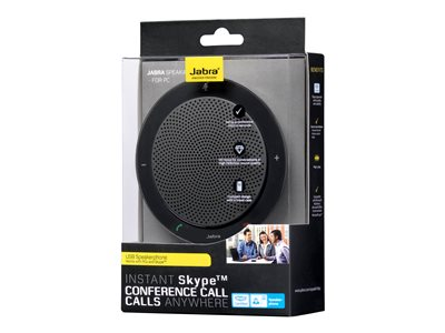 Jabra SPEAK 410 MS Sort