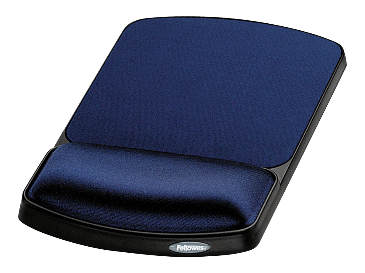 Fellowes mouse pad with wrist pillow