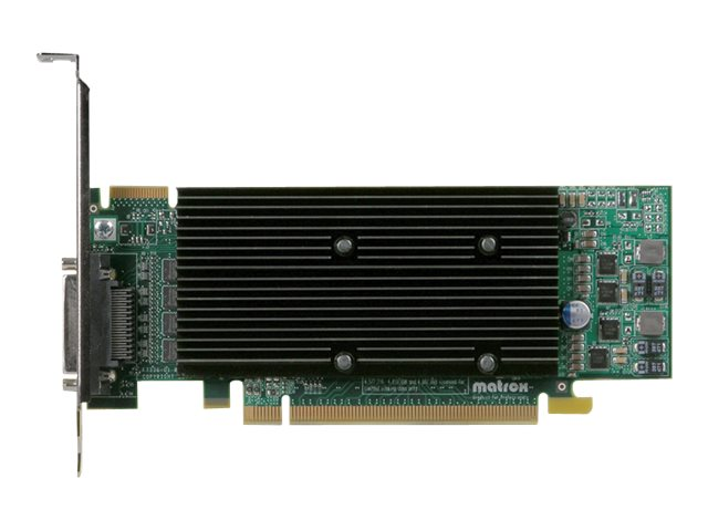 Matrox M9140 - Grafikkarten - M9140 - 512 MB DDR2 - PCIe x16 Low-Profile