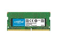 Crucial - DDR4 - 2 GB - SO DIMM 260-PIN - 2400 MHz / PC4-19200 - CL17