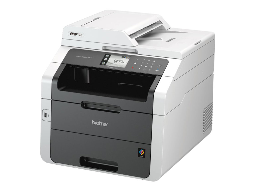 Brother MFC-9332CDW - Multifunktionsdrucker - Farbe - LED - Legal (216 x 356 mm) (Original) - A4/Legal (Medien)