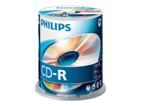 Philips CR7D5NB00 - 100 x CD-R - 700 MB ( 80 min )