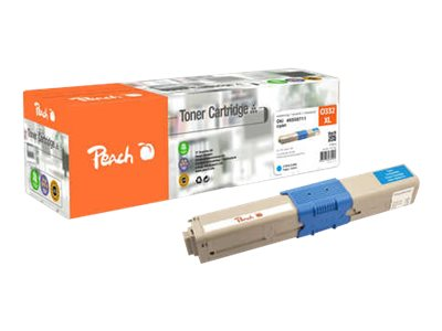 - XL - cyan - remanufacturé - cartouche de toner (alternative pour : OKI 46508711)