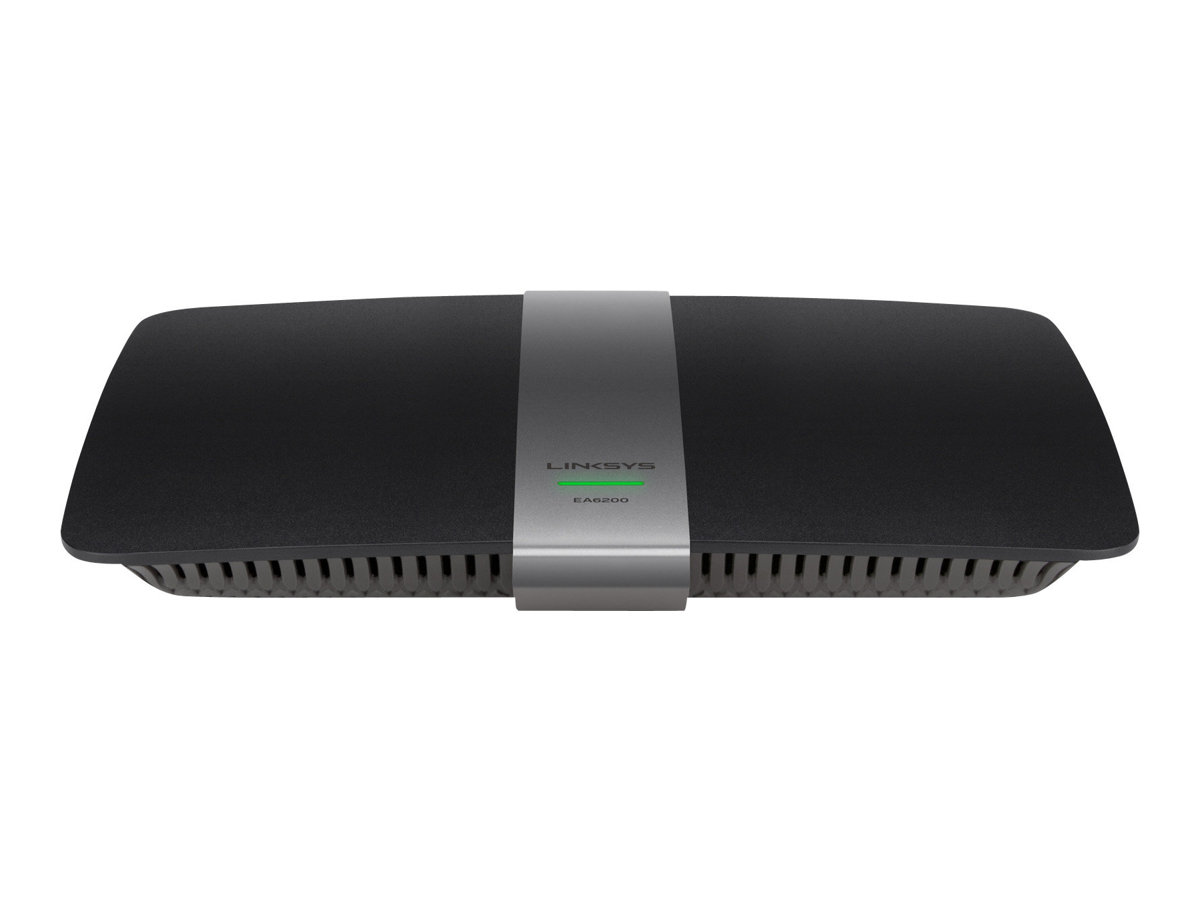 Linksys EA6200 - Wireless Router - 4-Port-Switch - GigE, 802.11ac (Entwurf) - 802.11a/b/g/n/ac (draft) - Dual-Band