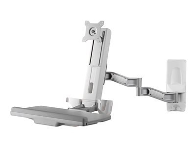 Amer AMR1WSL Mounting kit (wall mount, flexible extension arm) for monitor / keyboard