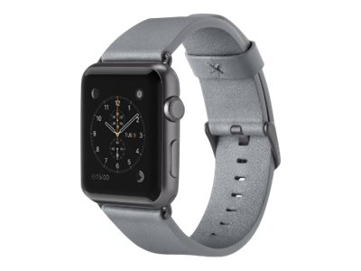 Belkin Classic - Uhrarmband - Grau - für Apple Watch (42 mm)