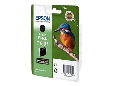 Epson T1591 - photo black - original - ink cartridge