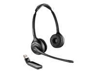 Plantronics Savi W420-M - 400 Series - headset - full size - wireless - DECT