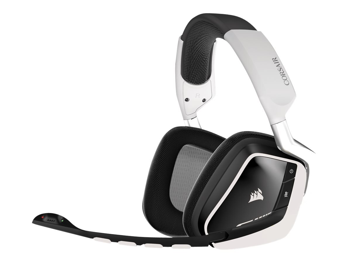 Corsair Gaming VOID RGB Dolby 7.1 - Headset - Full-Size - drahtlos - 2,4 GHz - weiß