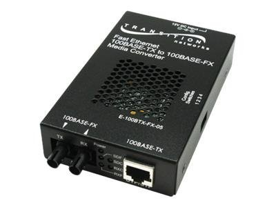 Transition Networks Stand-Alone - transceiver - 100Mb LAN