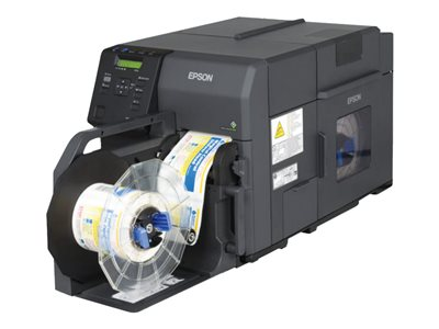 Epson ColorWorks TM-C7500-011 Label printer color ink-jet Roll (4.25 in) 1200 x 600 dpi  image