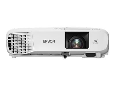 "Epson EB-X39 - 3LCD projector - portable - 3500 lumens (white) - 3500 lumens (colour) - XGA (1024 x 768) - 4:3 - LAN - Up to 100"" screen display size"
