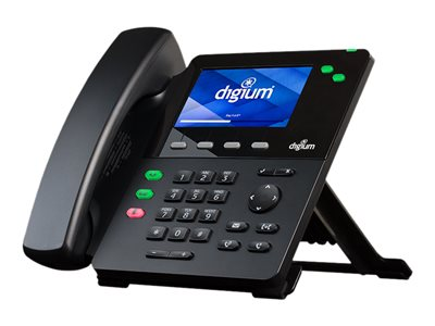 Digium D60 VoIP phone SIP v2 2 lines