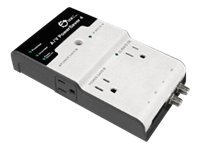 SIIG A/V PowerSaver 4 Surge protector AC 120 V output connectors: 4
