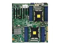SUPERMICRO X11DPH-TQ Motherboard extended ATX Socket P 2 CPUs supported C628 USB 3.0