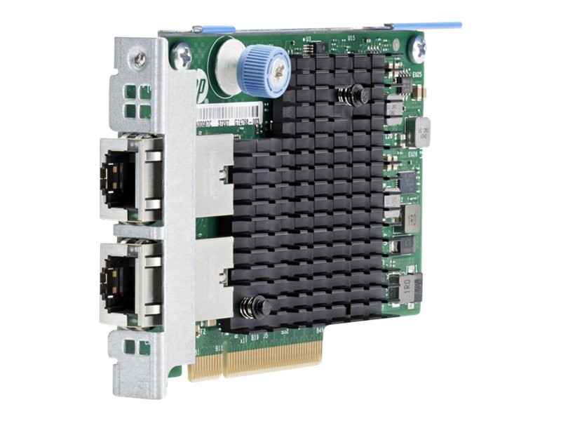 HPE 561FLR-T - Netzwerkadapter - PCIe 2.1 x8 - 10Gb Ethernet x 2 - für Apollo 4520 Gen9; ProLiant DL20 Gen9, XL230a Gen9; SimpliVity 380 Gen9; StoreEasy 3850