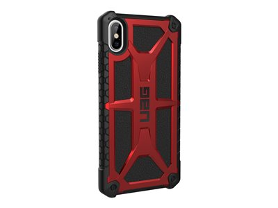 Rugged Case for iPhone XS Max [6.5-inch screen] - Monarch Crimson