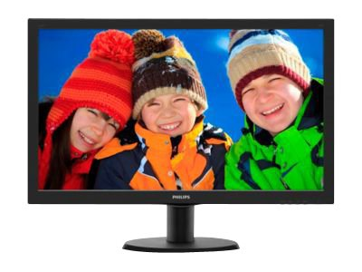 Philips V-line 243V5LHAB - LED-skærm - Full HD (1080p) - 23.6'