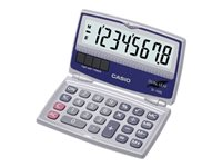Casio SL-100L Pocket calculator 8 digits solar panel, battery