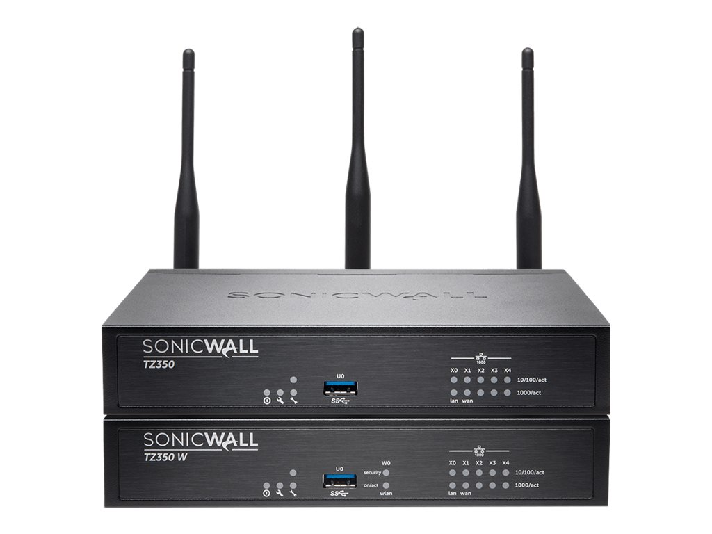 SonicWall TZ350 Wireless-AC - Advanced Edition - security appliance - SonicWall Security-as-a-Service Program