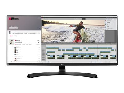 LG 34UM88C-P LED monitor 34INCH 3440 x 1440 IPS 300 cd/m² 5 ms 2xHDMI, DisplayPort
