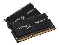 HyperX Impact DDR3L  kit 1600MHz CL9  Ikke-ECC SO-DIMM  204-PIN