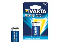 Varta High Energy - Batterie 9V Alkalisch 550 mAh