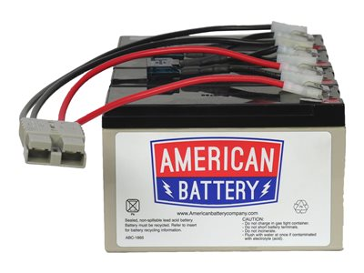 ABC RBC25 UPS battery 4 x lead acid 7000 mAh