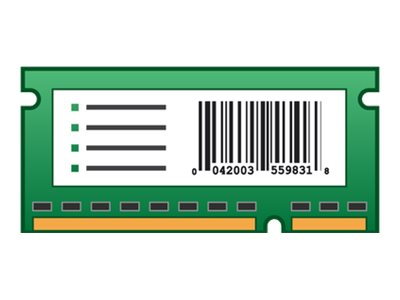 Lexmark Forms and Bar Code Card ROM (page description language)
