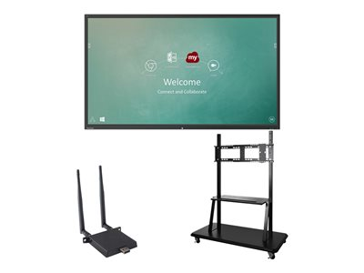 ViewSonic ViewBoard IFP9850 Bundle 2 98INCH Class (97.5INCH viewable) LED display interactive