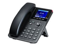 Digium A22 VoIP phone with caller ID 3-way call capability SIP v2, RTP 2 lines
