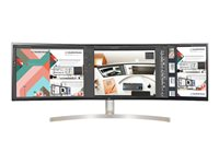 LG 49BL95C-W LED monitor 49INCH 5120 x 1440 Dual Quad HD IPS 350 cd/m² 1000:1 5 ms